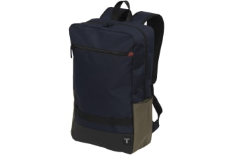 Tranzip Shades 15in Laptop Backpack (Navy) (One Size)