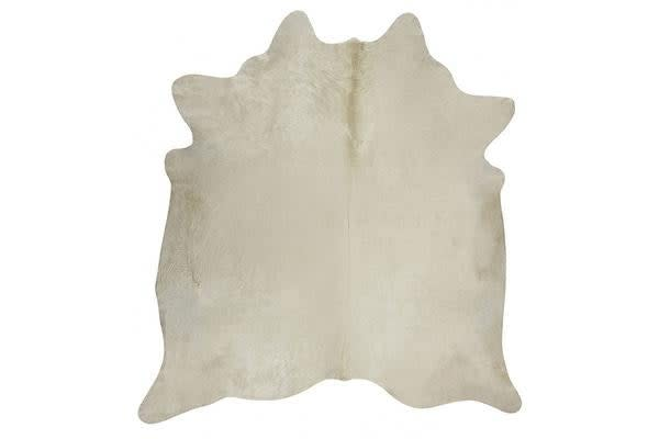 Exquisite Natural Cow Hide White 170x180cm