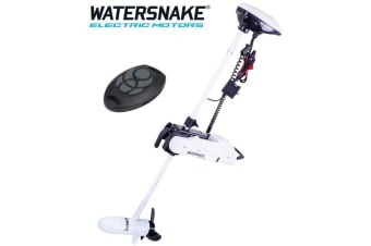 "Watersnake Fierce 54lb 48"" Shaft Remote Bow Mount Electric Motor"