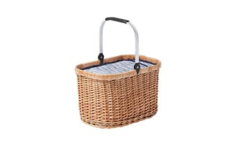 Kitchen Warehouse Oak Carry Basket Driftwood