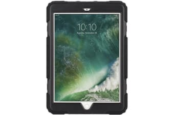 "Griffin Survivor All-Terrain Rugged Case for  iPad 9.7"" (5th & 6th Gen). - Black"