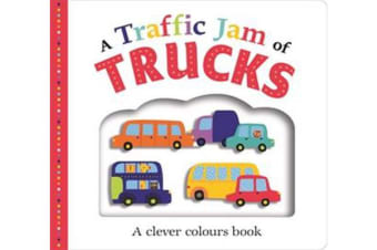A Traffic Jam of Trucks - Picture Fit (Large)