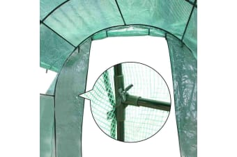 3X2X2M Walk In Greenhouse Tunnel Garden Sheds Green House Greenhouses
