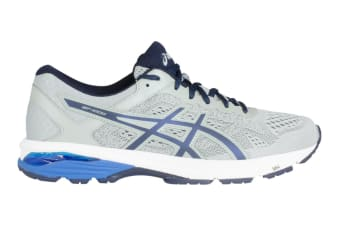 ASICS Men's GT-1000 6 Running Shoe (Mid Grey/Peacoat/Directoire Blue)