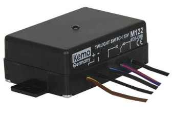 KEMO Twilight Switch 12 Volt DC switching current 2.0 A