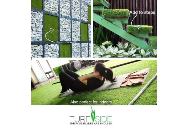 Turf side Artificial Grass 2x10m