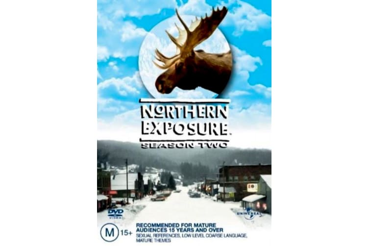 Northern Exposure : Season 2  - Region 4 Rare- Aus Stock DVD  PREOWNED: DISC LIKE NEW