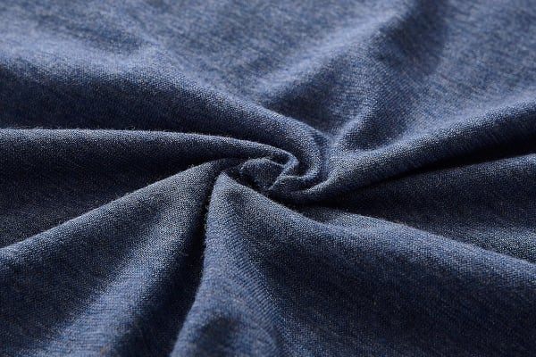 Gioia Casa Jersey Cotton Quilt Cover (Double/Blue Marble)