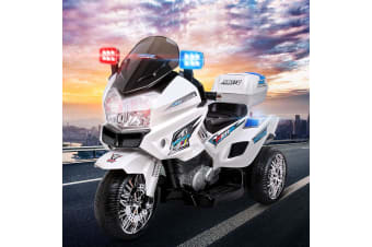 Kids Ride On Motorbike Electric Battery Car S1K Inspired Police Patrol