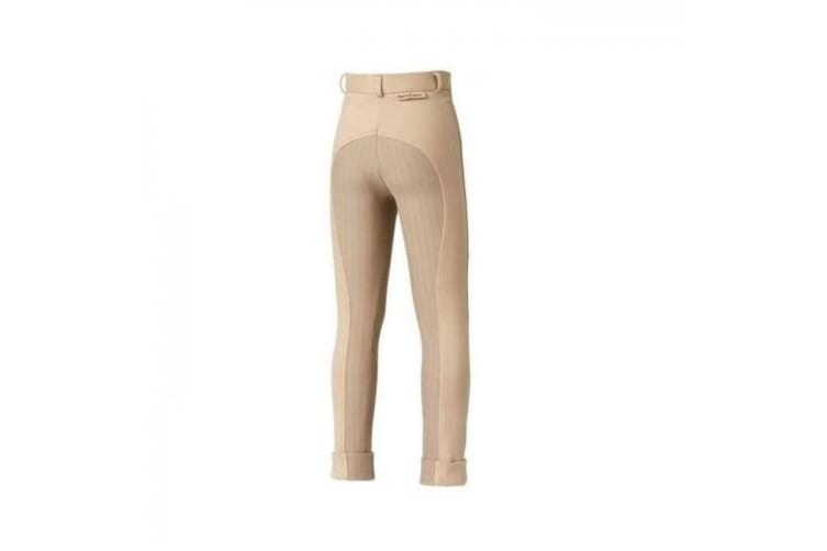 Harry Hall Childrens/Kids Chester Sticky Bum Breeches (Beige) (20 inches)