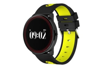 "Bluetooth V4.0 Smart Watch 0.96"" Oled Heart Rate Blood Oxygen Yellow"