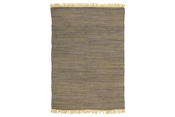 Mina Stunning Cotton Rug Yellow 270x180cm