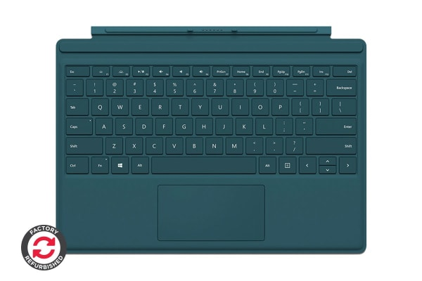 Microsoft Surface Pro Type Cover (Teal) - Certified Refurbished