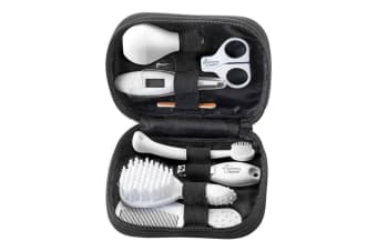 9pc Tommee Tippee Baby/Newborn Healthcare Travel Kit Clipper/Scissor/Brush/Comb