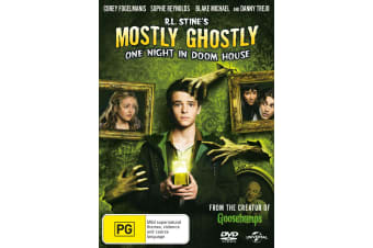 RL Stines Mostly Ghostly One Night in Doom House DVD Region 4