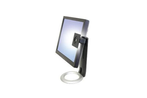 ERGOTRON Neo-Flex LCD Display Stand Black Colour 130mm height adjust tilt swivel and pivot 75 and100mm VESA Mount Max weight 7.2kg Max si