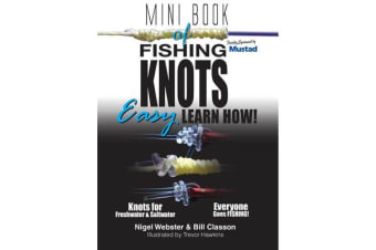 Mini Book of Fishing Knots & Rigs - Easy - Learn How