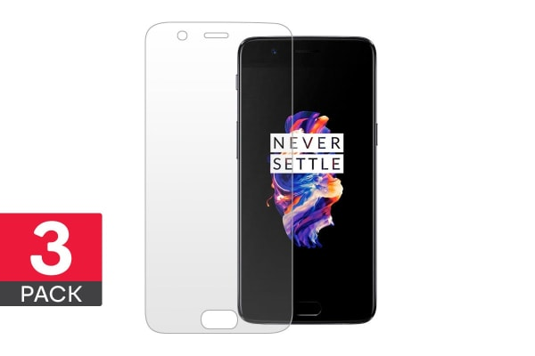 3 Pack Screen Protector for OnePlus 5