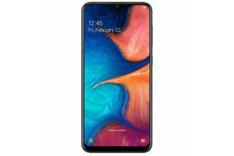 "Samsung Galaxy A20 (6.4"", 13MP, 32GB/3GB, Tel) - Black"