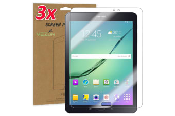 "[3 Pack] Samsung Galaxy Tab S2 9.7"" Ultra Clear Film Screen Protector by MEZON (SM-T810, T815, Clear)"