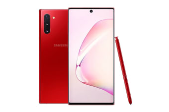 Samsung Galaxy Note10 Dual SIM (256GB, Aura Red)