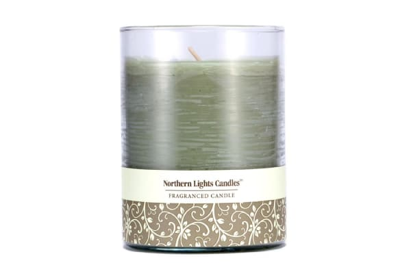 Northern Lights Candles Fragranced Candle - Lime Basil (4.5 inch)