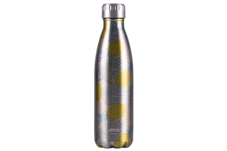 Avanti 500ml Water Vacuum Thermo Bottle Stainless Steel Cold Hot Drink Pineapple