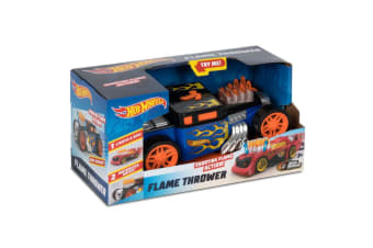 Hot Wheels Flame Thrower Car - Bone Shaker