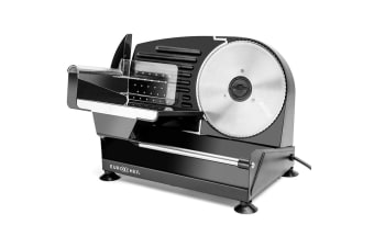 Black 150W Electric Meat Slicer -MS19B