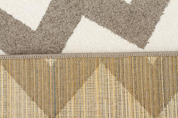Indoor Outdoor Zig Zag Rug Grey 330x240cm