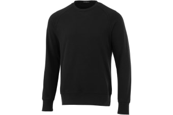Elevate Kruger Crew Neck Sweater (Solid Black) (XXXL)
