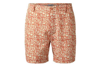 Craghoppers Mens Vinci Shorts (Red Ochre Print) (38)