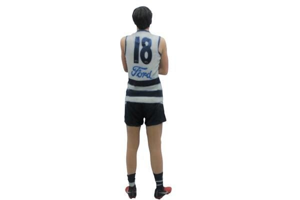 Charlie Constable AFL Geelong Cats 3D Printed Mini League Figurine - 18cm