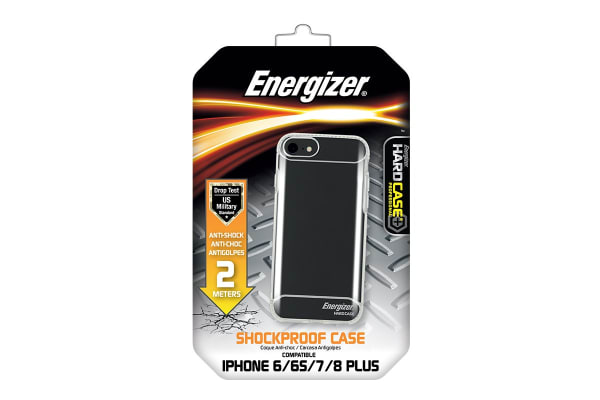 Energizer Anti-Shock Phone Case 2m iPhone 6 Plus/7 Plus/8 Plus - Black