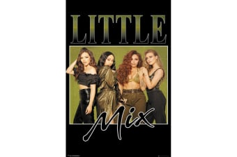 Little Mix Khaki Poster (Multicolour)