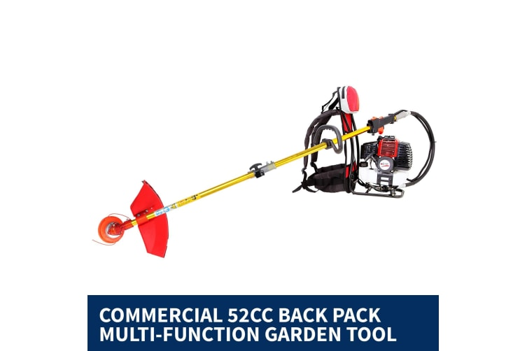 Black Eagle Pole Chainsaw Hedge Trimmer Brush Cutter Whipper Snipper Backpack