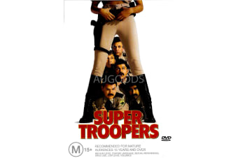 Super Troopers -Comedy Region 4 Rare- Aus Stock DVD PREOWNED: DISC LIKE NEW