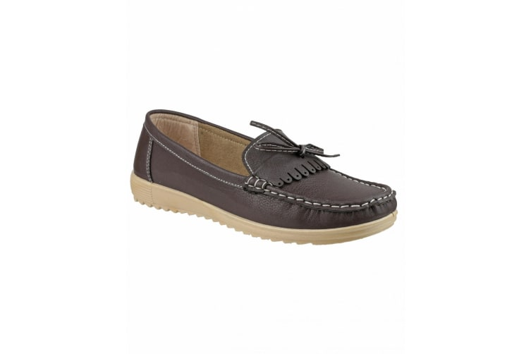 Amblers Elba Ladies Summer Shoe / Womens Shoes (Brown) (38 EUR)