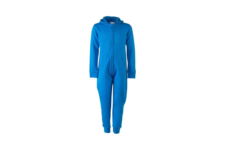 Skinnifit Minni Childrens/Kids Zip Up All-In-One (Sapphire Blue) (13 Years)