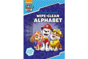 PAW Patrol - Wipe-Clean Alphabet