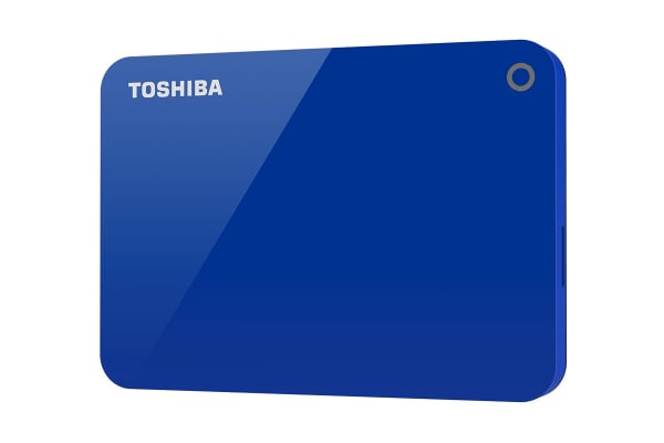 Toshiba Canvio Advance V9 USB 3.0 Portable External Hard Drive 2TB - Blue (HDTC920AL3AA)