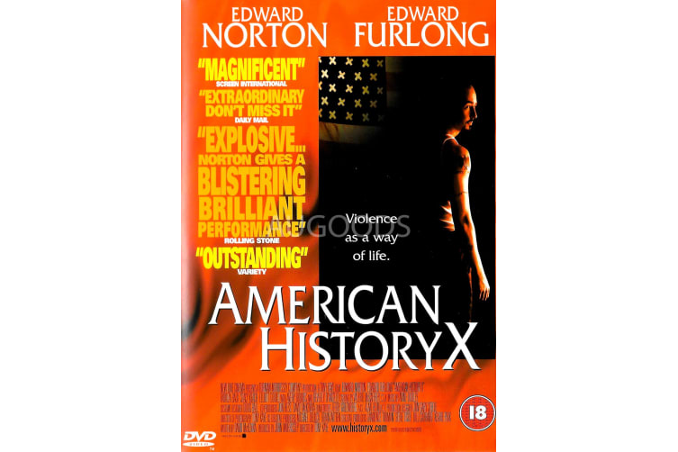 American HistoryX - Region 2 Rare- Aus Stock DVD Preowned: Excellent Condition