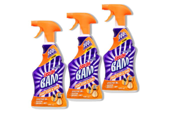 3PK Easy Off Bam 500ml Soapscum & Shine Limescale/Rust/Tiles/Tubs Cleaning Spray
