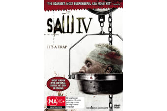 Saw IV DVD Region 4