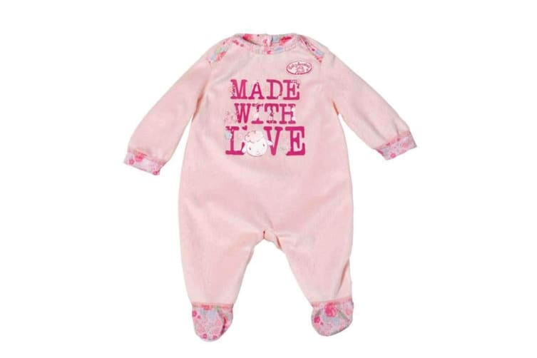 Baby Annabell Made with Love Romper Set