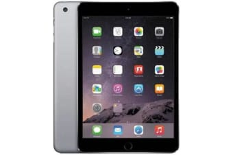 Used as demo Apple iPad Mini 32GB Wifi + Cellular Black (100% GENUINE + AUSTRALIAN WARRANTY)