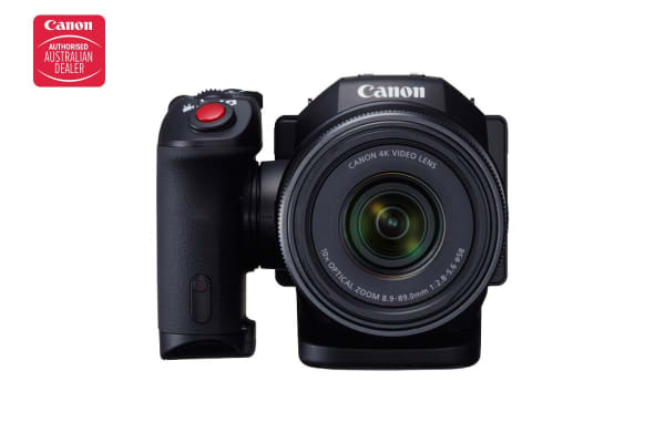 Canon 4K Compact Professional Video Camera with 10x Optical Zoom (XC10)