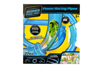 Super Speed Pipes Loop RC Car Racing Set - 27 Piece