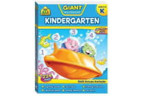 School Zone Giant Kindergarten Workbook