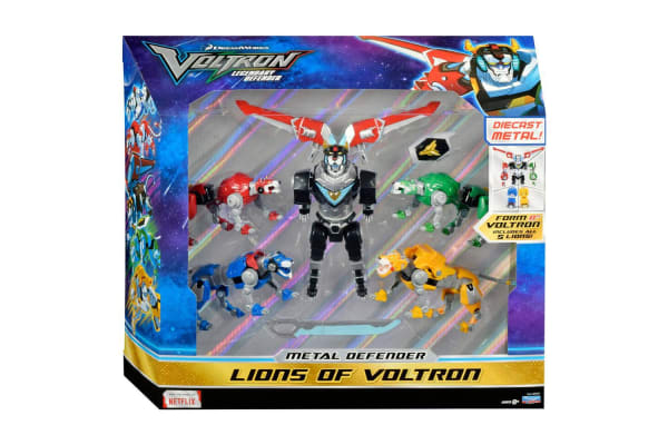 Voltron Metal Defender Lions of Voltron Die Cast 5 Pack
